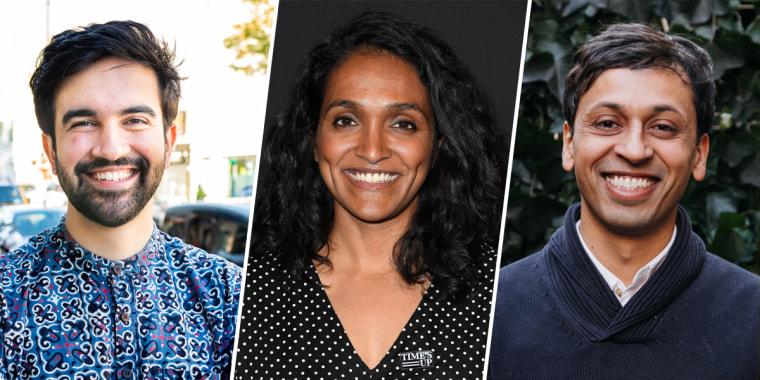 Zohran Mamdani, Nithya Raman and Nikil Saval