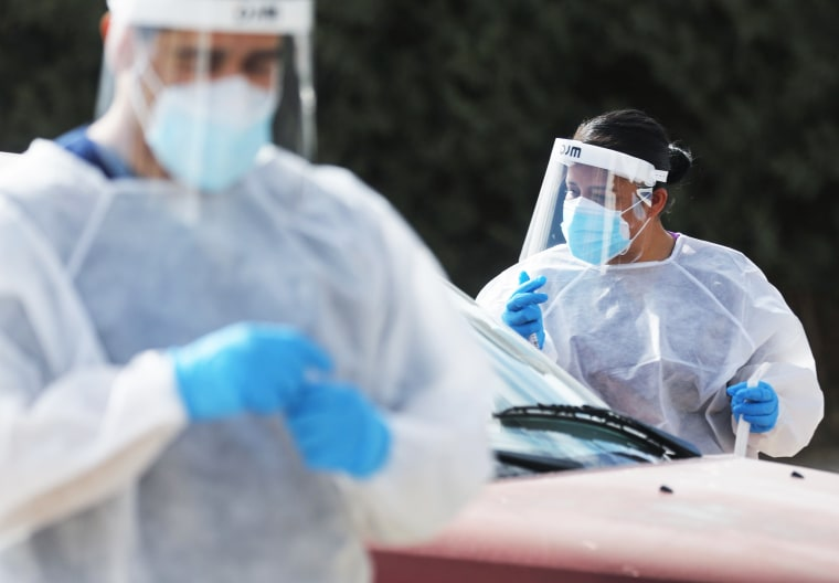Image: El Paso Striken With Serious Surge Of Coronavirus Cases