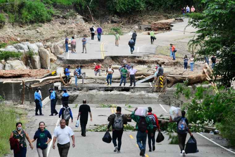 Image: Aftermath of Hurricane Iota in Honduras