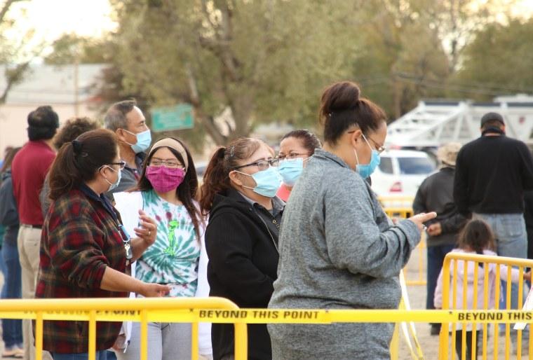 IMAGE: Voting in the Navajo Nation