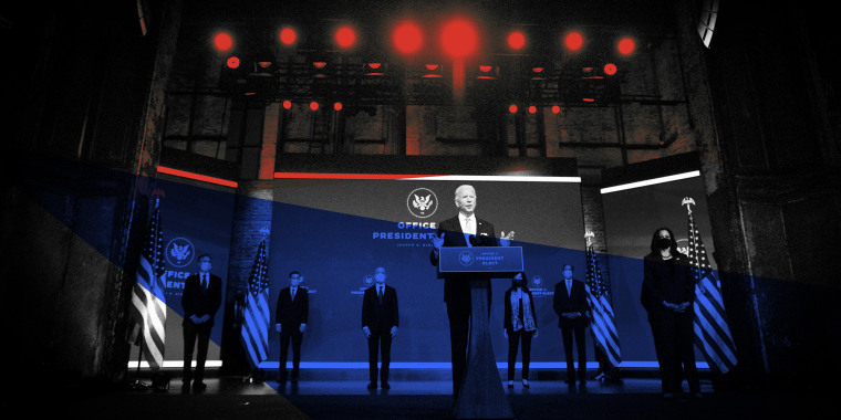 Image: President-elect Joe Biden introduces key foreign policy and national security nominees and appointments in Wilmington, Del., on Nov. 24, 2020.