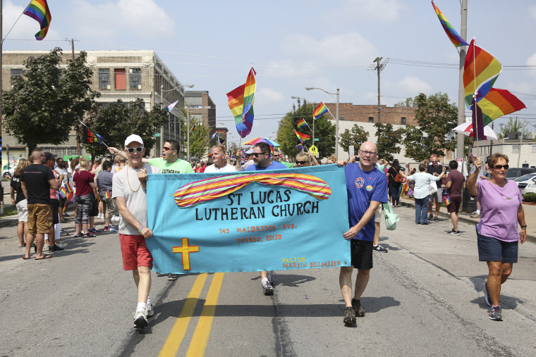 Participants from St Lucas Lutheran Church during Toledo