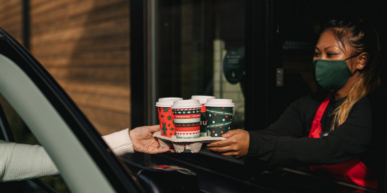 Doctors and nurses in need of a caffeine boost may want to visit their local Starbucks every morning (or afternoon!) this month.