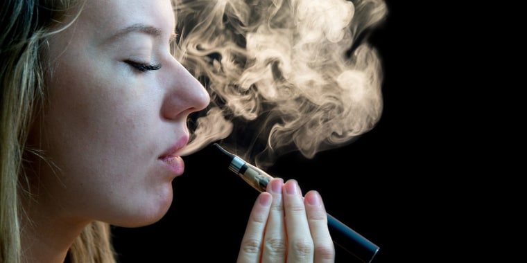 Traditional cigarette smoking rates among kids and teens are at historic lows, but many are still vaping.