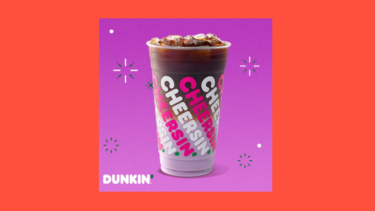 """Dunkin's purple drink will have """"bright berry flavors of blueberry, raspberry, blackberry, and plum."""""""