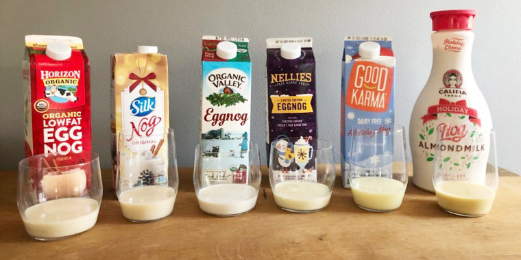 Eggnog is kind of like black licorice — you either love it or hate it.