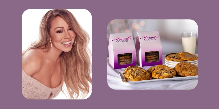All I want for Christmas is ... cookies ...  from Mariah Carey.