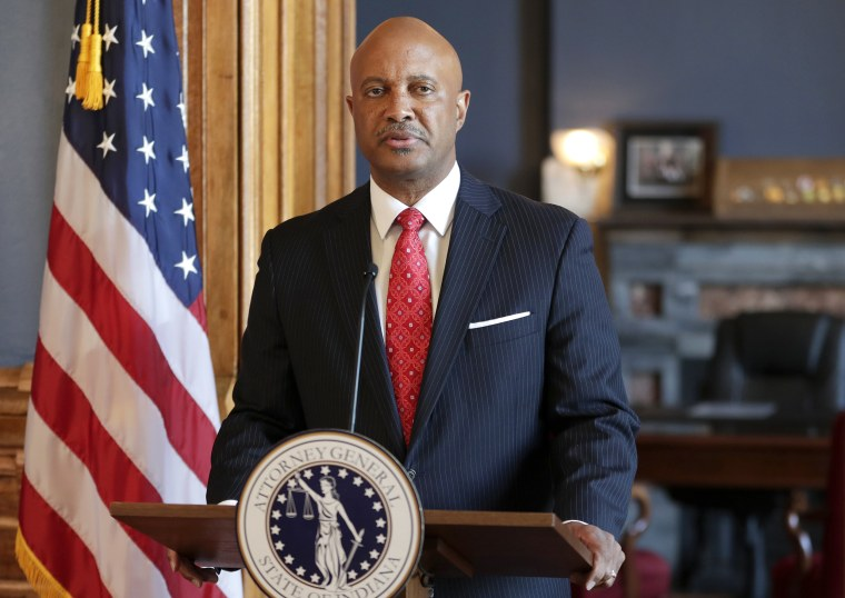 Image: Indiana Attorney General Curtis Hill