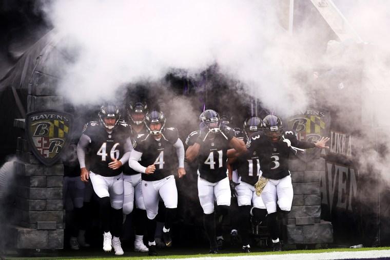 Image: Tennessee Titans v Baltimore Ravens