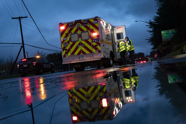 Image: First Responders In Maryland Work As Coronavirus Cases Rise Across The Nation