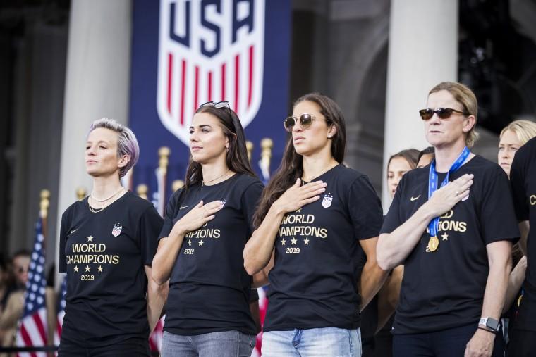U.S. Women's National Team World Cup Champions Ticker Tape Parade