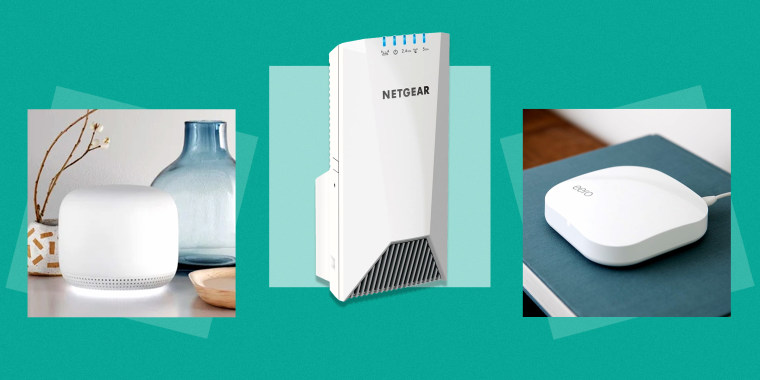 Mesh Wi-Fi systems and range extenders from the likes of Google, Netgear and Amazon can help work from home setups — especially those involving multiple computers (and even moreso if gaming or streaming is involved).