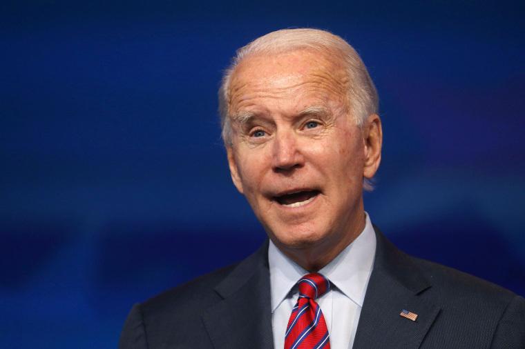 Image: U.S. President-elect Joe Biden makes remarks on the economy from Wilmington, US