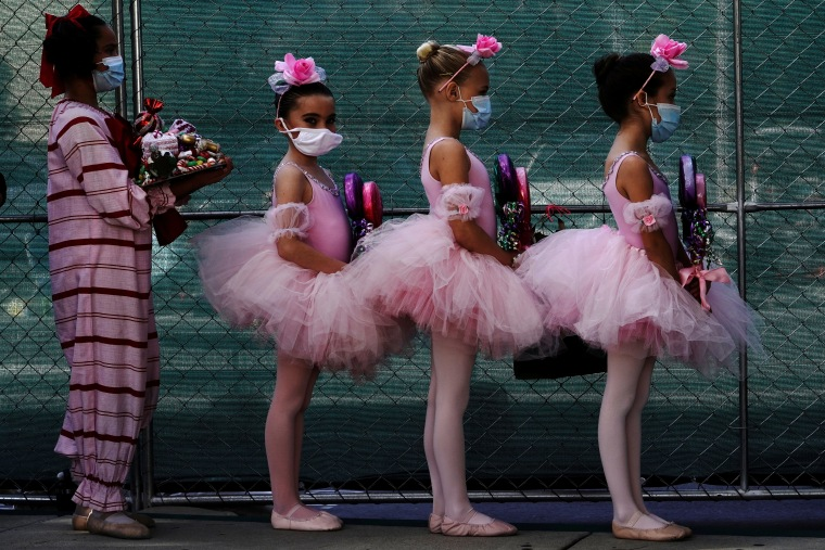 """Image: Backstage at San Diego Ballet's performance of """"The Nutcracker"""" in a parking lot in San Diego"""