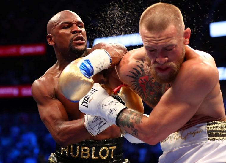 Image: FILE PHOTO: Boxing: Mayweather vs McGregor