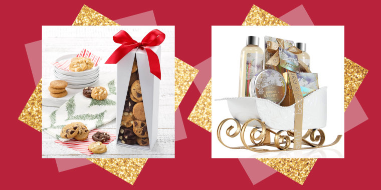 These gift baskets are an easy gift for people who are hard to shop for.