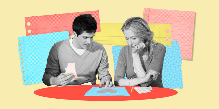 Grab a pen and a piece of paper: Taking a few minutes to write out problems and solutions can have a huge impact on your relationship.