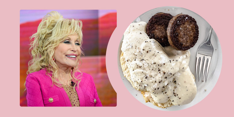 """Now, I can't eat like that all the time, but I enjoy eating it when I do,"" said Parton in a recent interview."