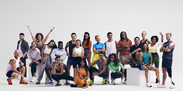 The Apple Fitness+ program features workouts from dozens of certified trainers.