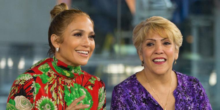 Jennifer Lopez and Guadalupe Rodriguez