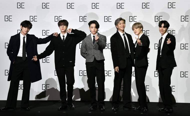 Image: SKorea-ENTERTAINMENT-music-BTS