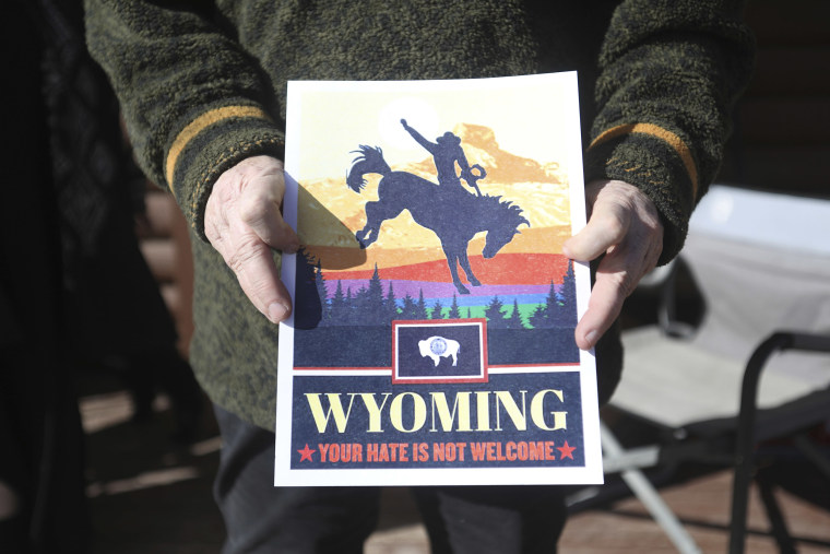 'Your kind is not welcome': Homophobic confrontation sparks debate in Wyoming
