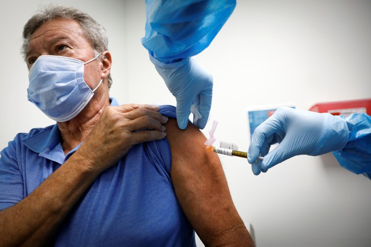 Coronavirus disease (COVID-19) vaccination study at the Research Centers of America in Hollywood