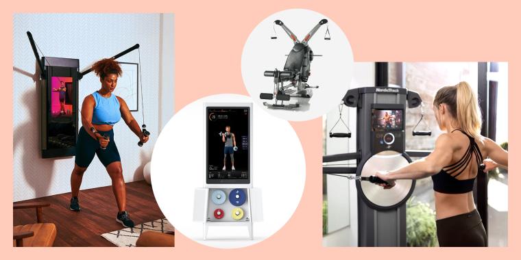 Tonal, Tempo Studio, Bowflex Home Gym Revolution, NordicTrack Fusion CST.