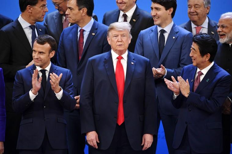 Image: ARGENTINA-G20-SUMMIT-FAMILY-PHOTO