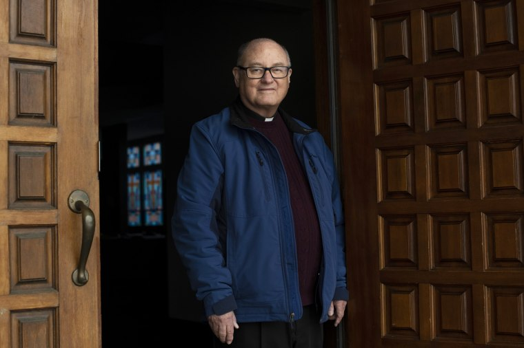 Image: Father Martin Lally