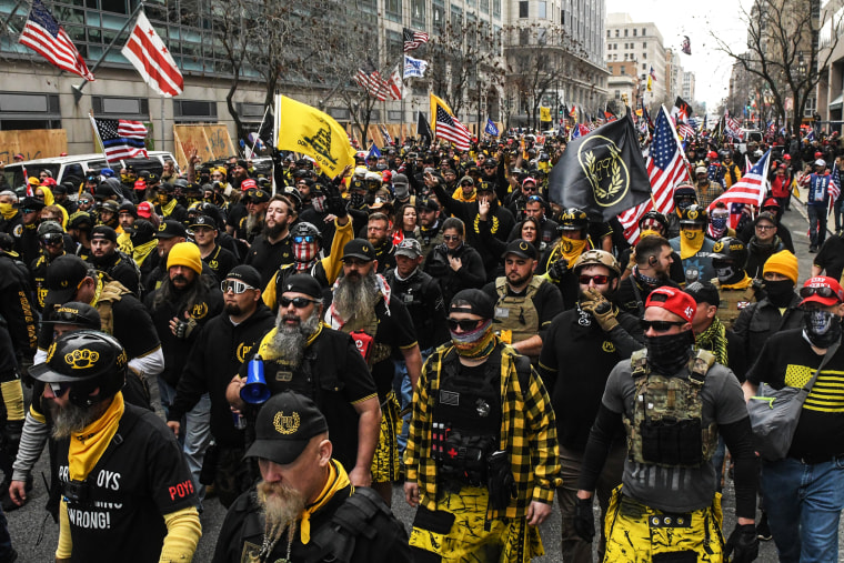 Image: BESTPIX - Supporters Of President Trump Gather In D.C. To Protest Election Results