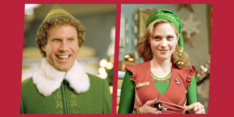 "The cast of the classic holiday movie ""Elf"" reunited for a live script reading over the weekend."