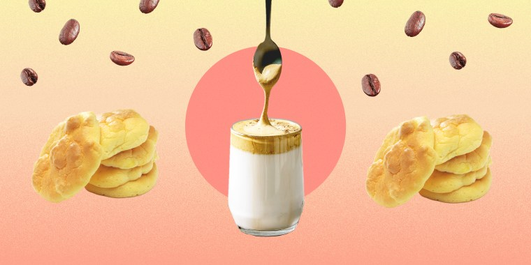 """Whipped coffee, or """"dalgona coffee,"""" became one of the biggest food trends of the year and was especially popular on TikTok."""
