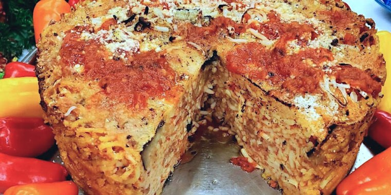 Spaghetti Al Forno With Ground Beef Two Ways
