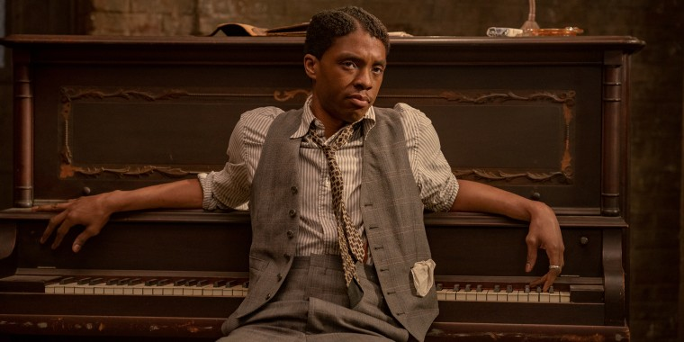 """Chadwick Boseman received a SAG nomination for his lead performance in """"Ma Rainey's Black Bottom,"""" which was the last film he starred in before his passing."""