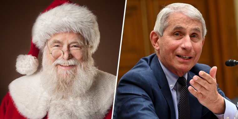 Dr. Fauci is reporting back from a covert trip to the North Pole.
