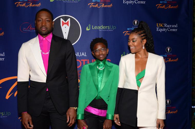 Image: Dwyane Wade, Zaya Wade and Gabrielle Union