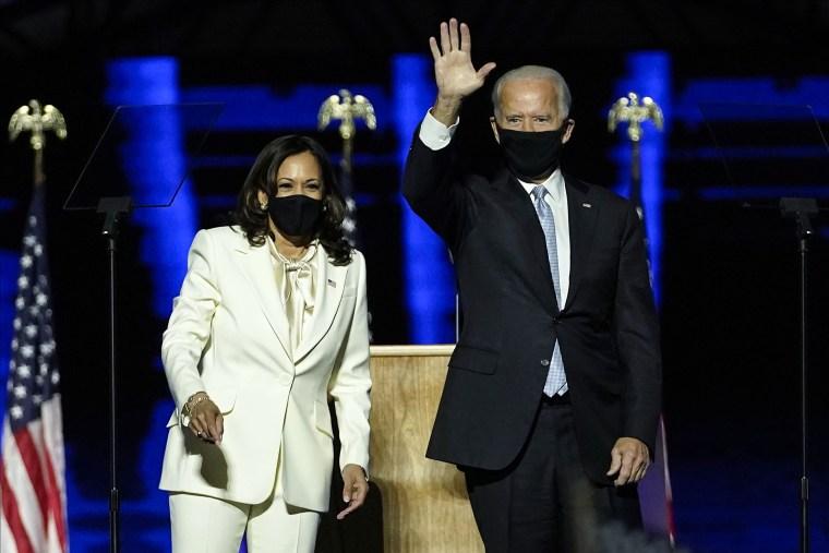 Image: Joe Biden, Kamala Harris, mask