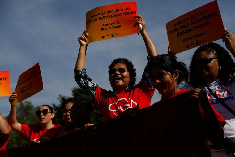 Demonstrators gather outside the U.S. Supreme Courthouse in Washington