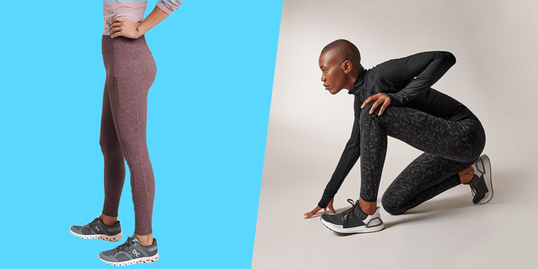 Athleta Rainer running tights review. Why these workout leggings are the best for winter and outdoor workouts, runs and exercise 2020 and into 2021.