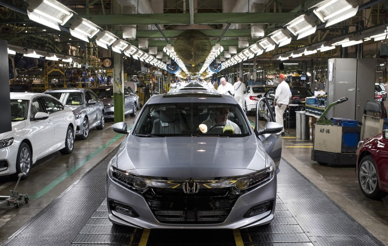 Image: Inside A Honda Motor Co. Facility As Company Rejects Robots