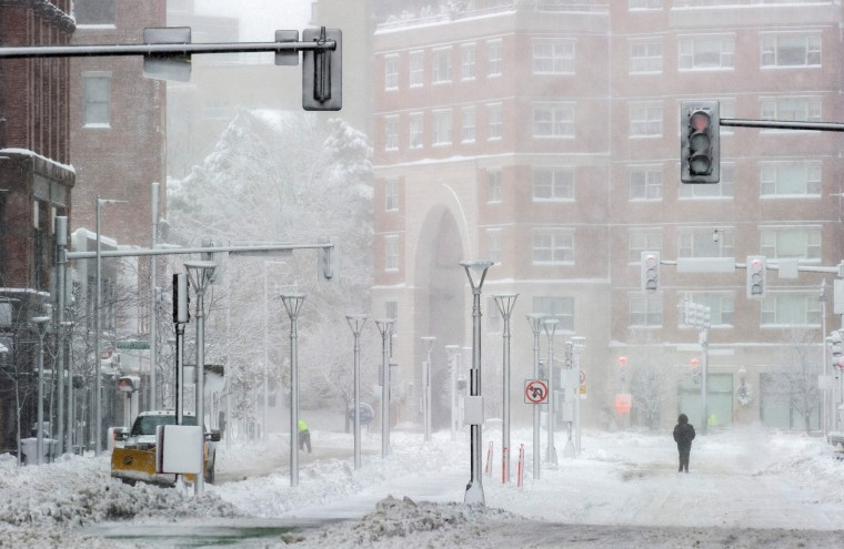 Northeast just got hit by a historic snowstorm. Could a white