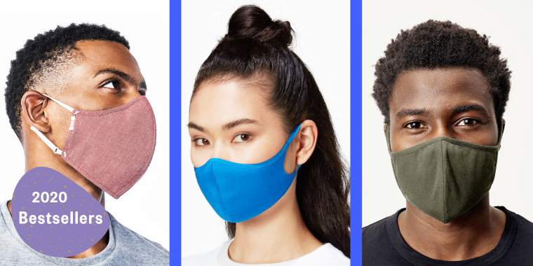 Here are the bestselling face masks we covered in 2020.