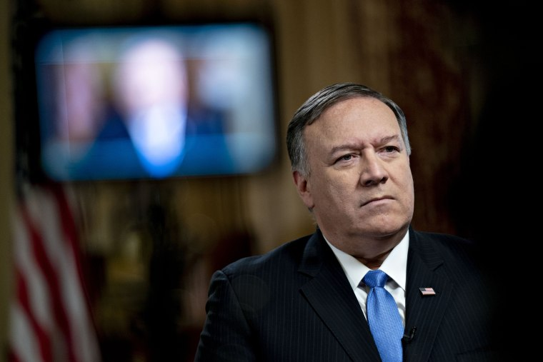 Image: Secretary Of State Mike Pompeo Interview