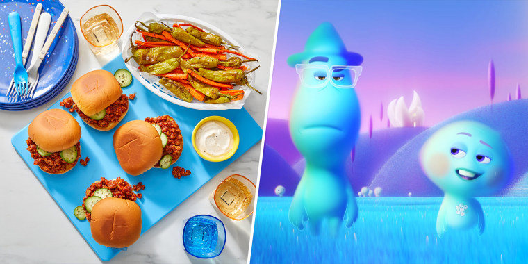 These colorful dishes are perfect for a movie night in.