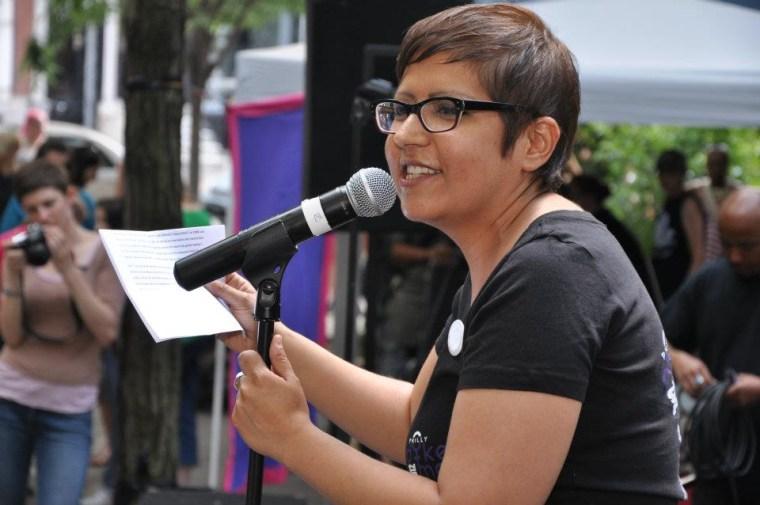Gloria Casarez in 2012.