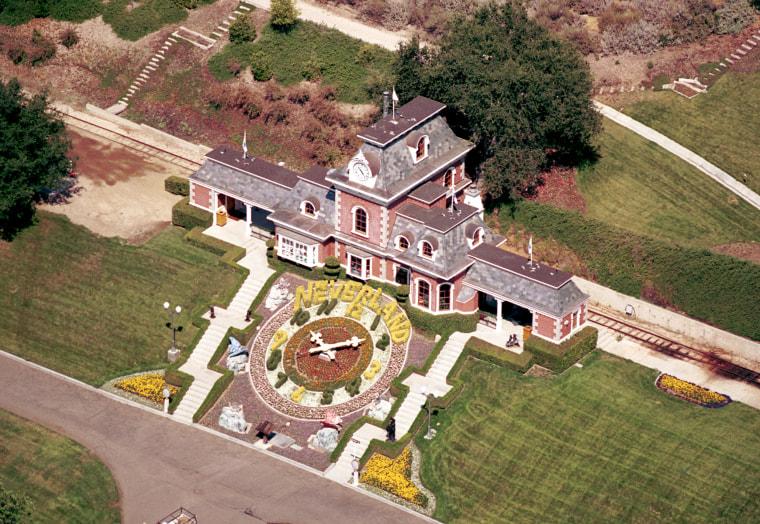 Image: Michael Jackson Neverland Home