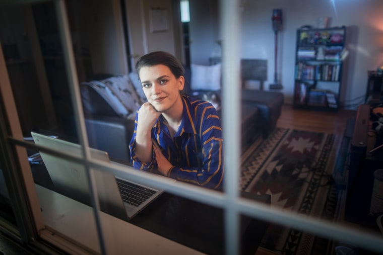 Jolene Stewart at her home in Reno, Nev.