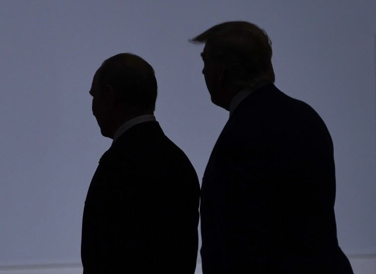 Image: Vladimir Putin Donald Trump