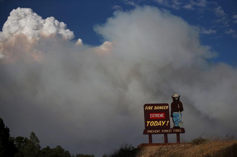 Image: Rim Fire Burns Near Yosemite National Park